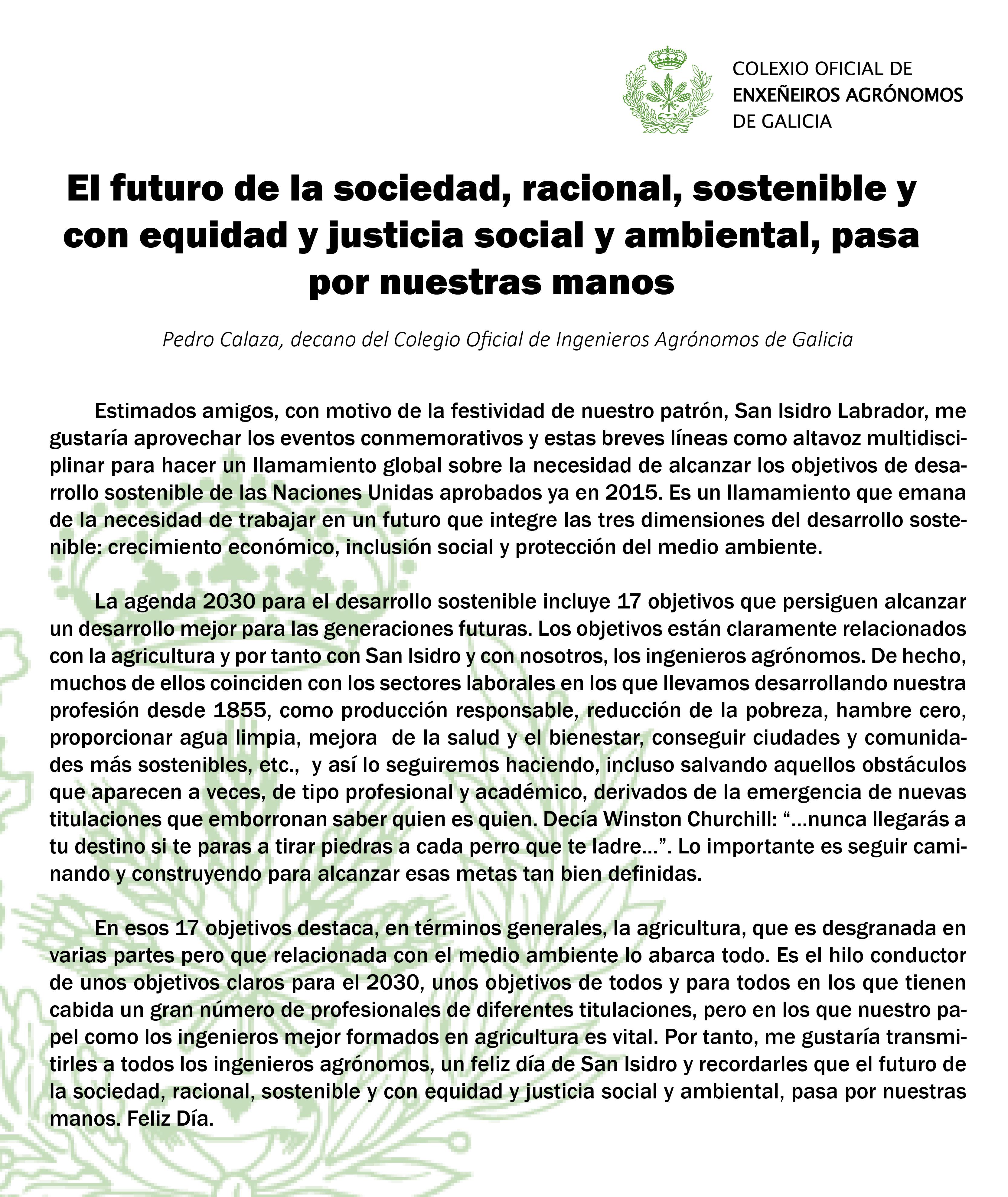 Artículo Pedro Calaza