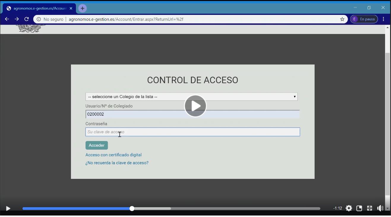 Vídeo 1 nueva plataforma e-Colegio